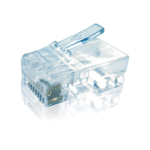 Plug conector RJ45 Macho - Silicone