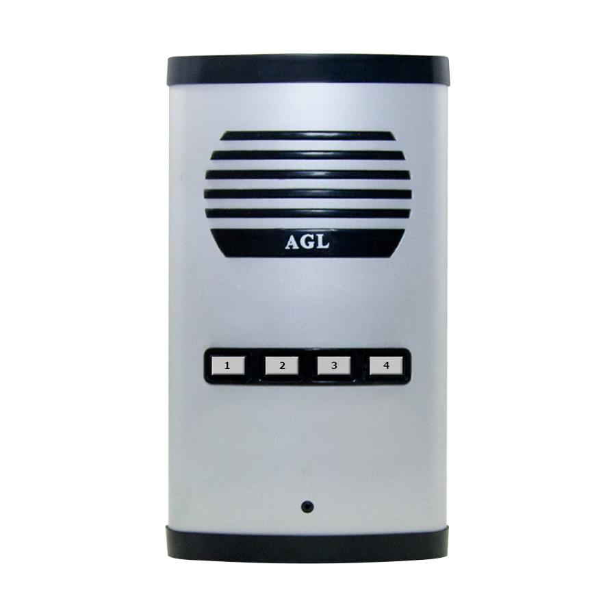 Interfone Porteiro Eletrônico Coletivo Principa AGL 4 Pontos C/ Saída 12V.
