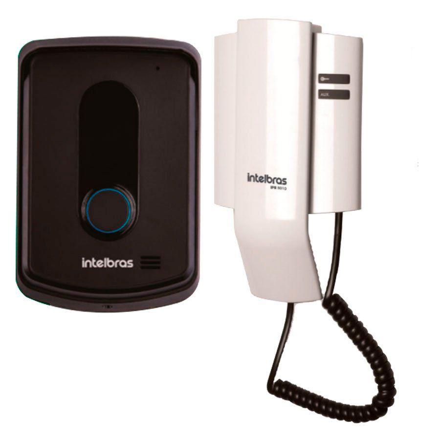 Porteiro Interfone Eletrônico IPR 8010 Residencial Intelbras, abre até 2 Fechaduras, superior ao IPR 8000