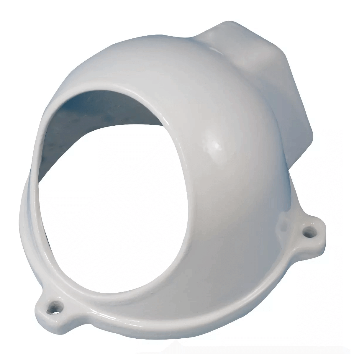 Protetor para Câmera Dome tipo C com Infra Branco Anti-Vandalismo Bulher  - Tudo Forte