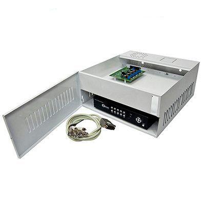 Rack Organizador HD e Analógico, Mini Iron House, 4 Canais, Onix Security  - Tudo Forte