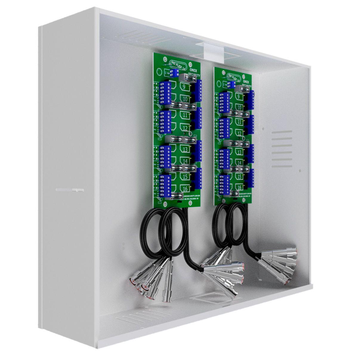 Rack Organizador HD e Analógico,Saturno HD, 32 Canais, Onix Security  - Tudo Forte