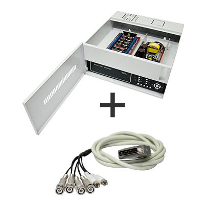 Rack Organizador Mini Iron House 1G Onix, 4 Canais, Placa Organizadora, Filtro de Ruído, Pintura Epóxi Branca.* Acompanha Cabo