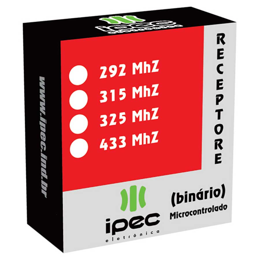 Receptor Binário Microcontrolado Ipec 292 MHZ