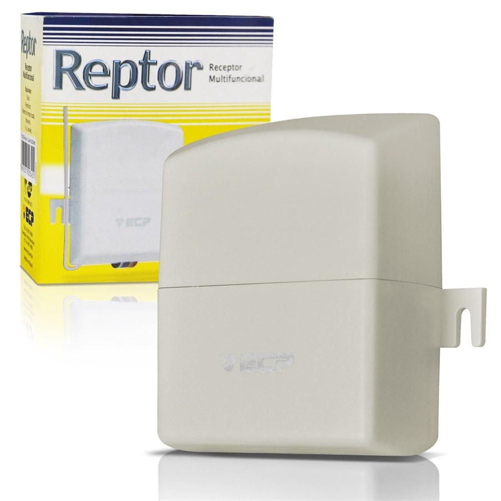 Receptor Multifuncional ECP 2 Canais 433 Mhz Alcance 70 Metros  - Tudo Forte