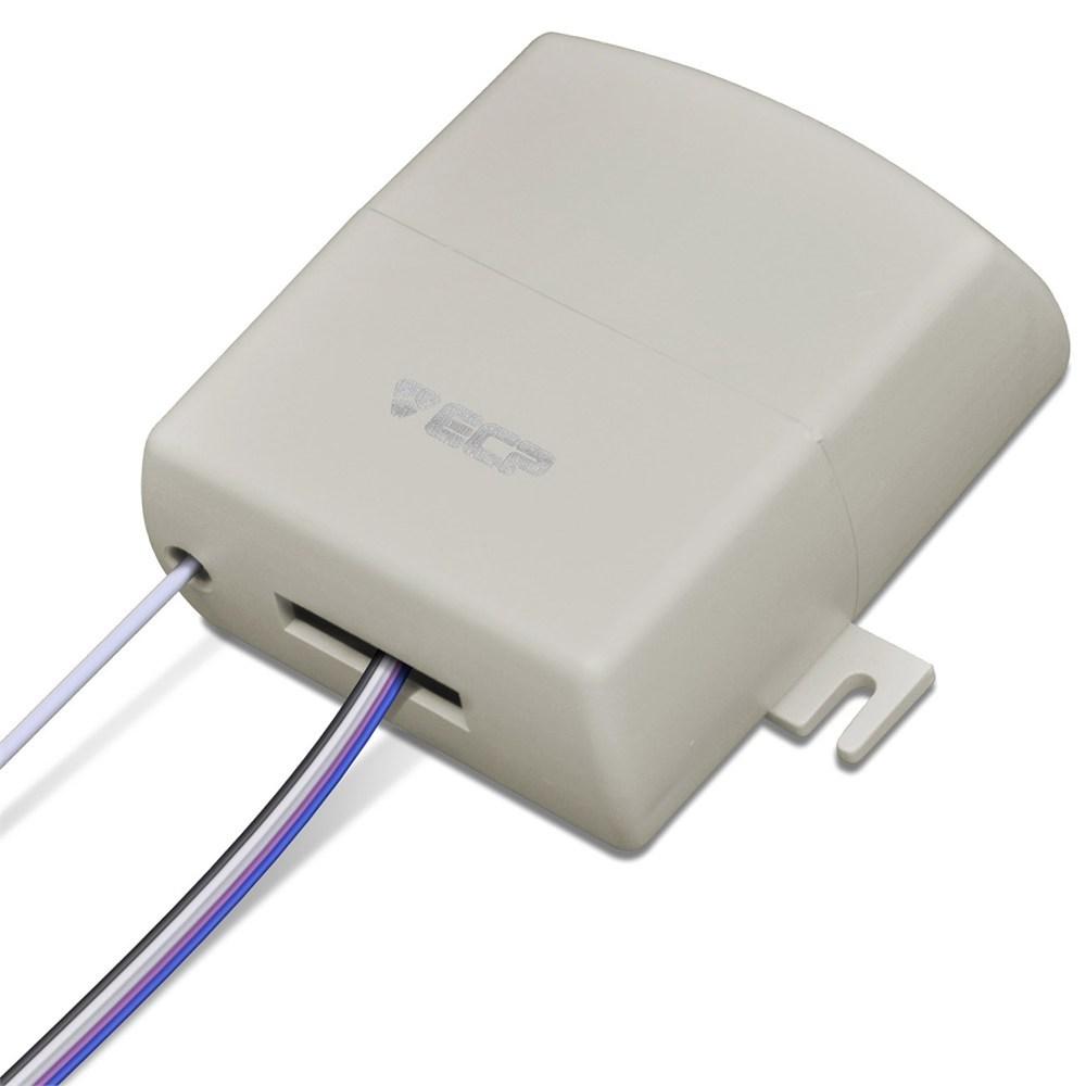 Receptor Multifuncional ECP 4 Canais 433 Mhz Alcance 80 Metros