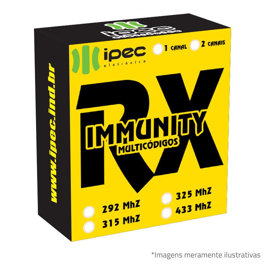 Receptor RX Immunity Ipec 2 canais - Duplo Immunity Multicode  - Tudo Forte