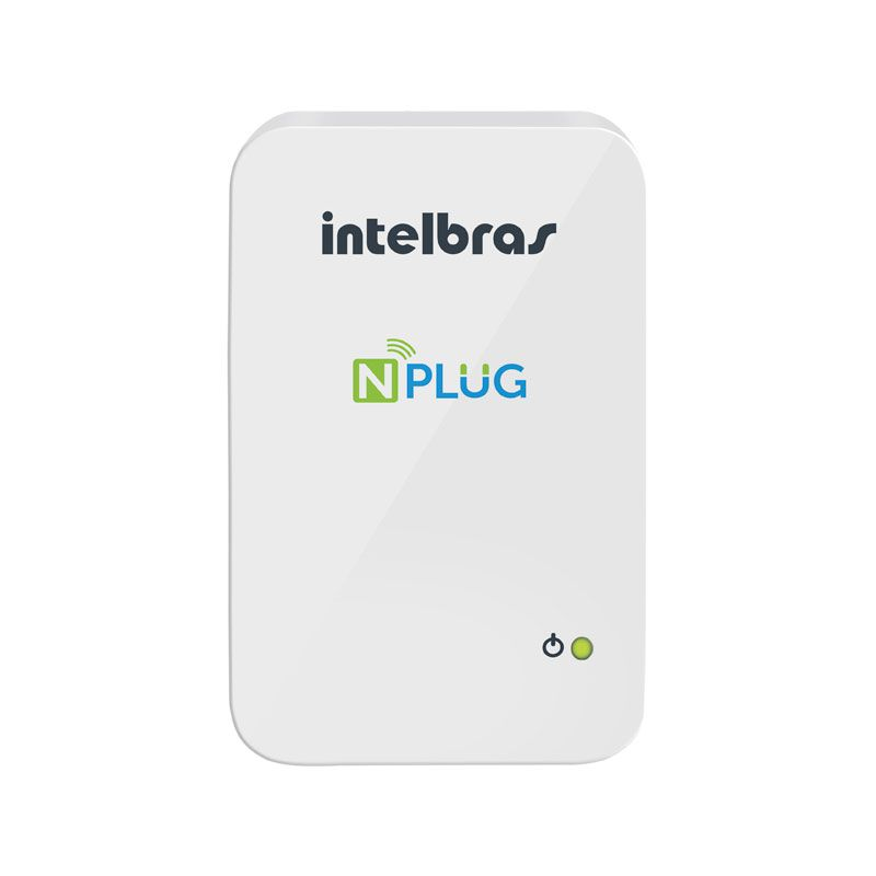 Repetidor+ Router WIFI Intelbras NPLUG