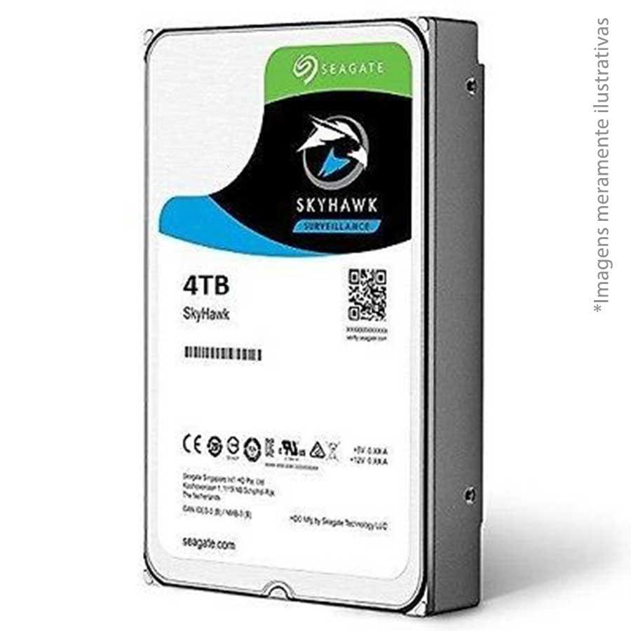 HD 4TB Seagate Surveillance SkyHawk Interno 3.5'' SATA3 (ST4000VX007) - Discos rígidos para Vigilância
