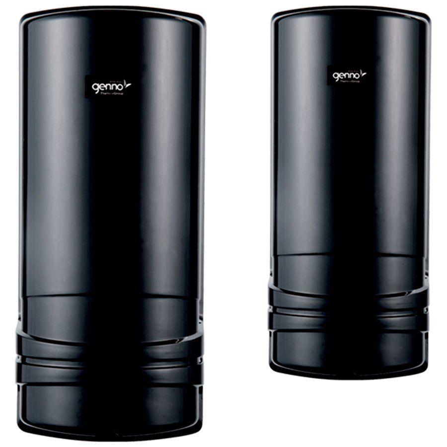 Sensor de Barreira Ativo 2 Feixes Atack Black Genno Nice