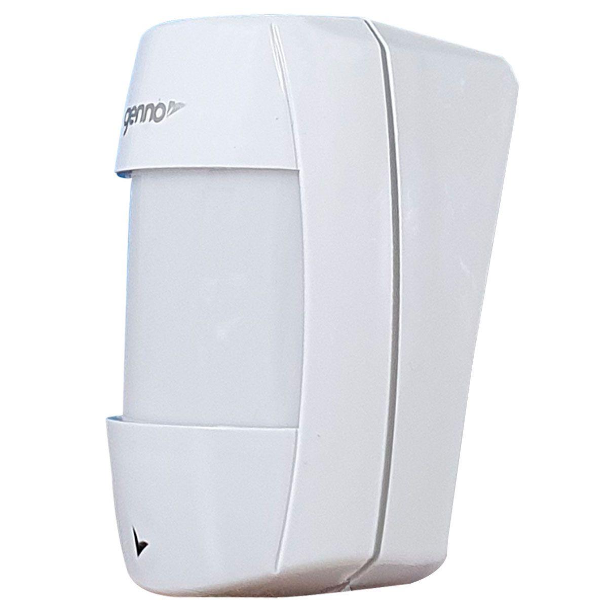 Sensor de Presença Infravermelho IB-600 Genno Sem Fio, 3 níveis de sensibilidade  - Tudo Forte