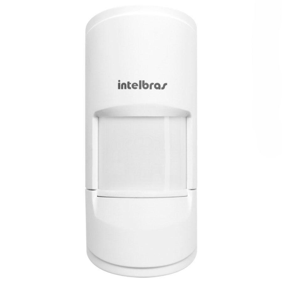 Sensor de Presença Infravermelho IVP 4101 PET Smart Sem Fio Passivo, ,2 níveis de sensibilidade, Cobertura com ângulo de 90° Alcance de 12m - PET 20 Kg  - Tudo Forte