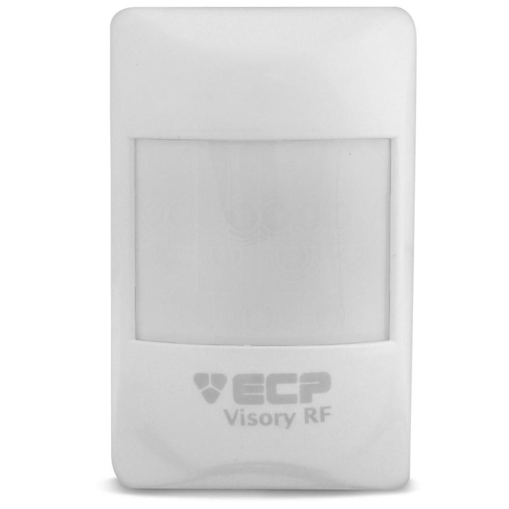 Sensor de Presença Infravermelho IVP Visory RF Saw ECP Sem Fio, 3 níveis de sensibilidade, Cobertura com ângulo de 110° e Alcance de 15m  - Tudo Forte
