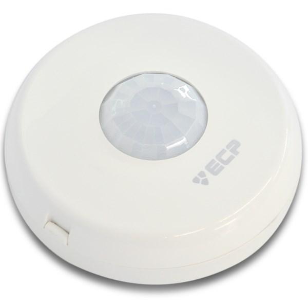 Sensor de Presença  ECP Iluminação Acende e Apaga Automatico Sobrepor no Teto  - Tudo Forte