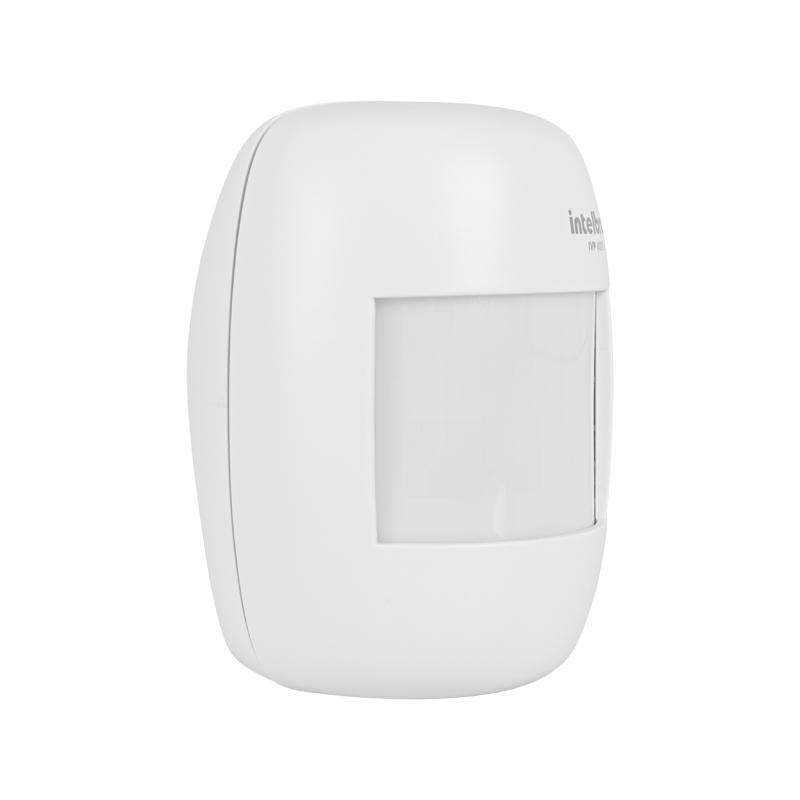 Sensor de Presença Infravermelho IVP 4000 Smart Intelbras Sem Fio Passivo, 2 níveis de sensibilidade, Cobertura com ângulo de 115° e Alcance de 12m  - Tudo Forte
