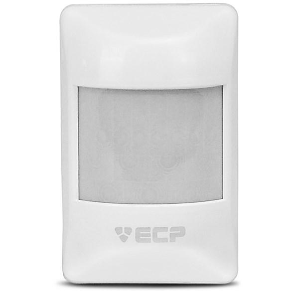 Sensor de Presença Infravermelho IVP Visory ECP Com Fio, 3 níveis de sensibilidade, Cobertura com ângulo de 110° e Alcance de 15m