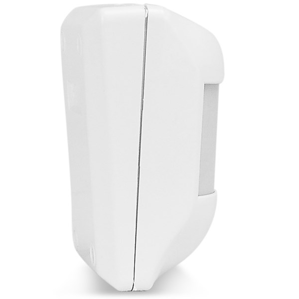 Sensor de Presença Infravermelho IVP Visory ECP Com Fio, 3 níveis de sensibilidade, Cobertura com ângulo de 110° e Alcance de 15m  - Tudo Forte