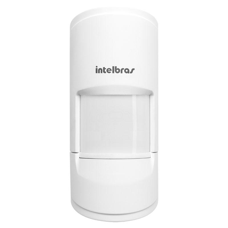 Sensor de Presença Infravermelho IVP 5001 PET Shield Intelbras Com Fio Passivo, 2 níveis de sensibilidade, Cobertura com ângulo de 90° e Alcance de 12m - PET 20 Kg