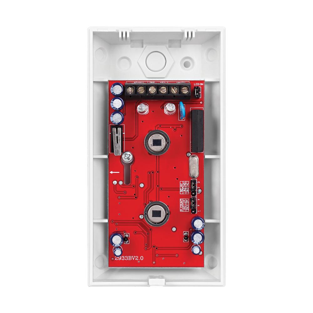 Sensor de Presença Infravermelho IVP 3000 PET Intelbras Com Fio Duplo PIR, 2 níveis de sensibilidade, Cobertura com ângulo de 110° e Alcance de 12m - PET 35 Kg  - Tudo Forte