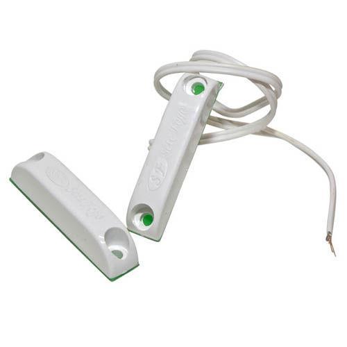 Sensor Magnético de Abertura de Porta e Janela de Soprepor NA Sete Fogo Com Fio - Pacote com 05 unidades