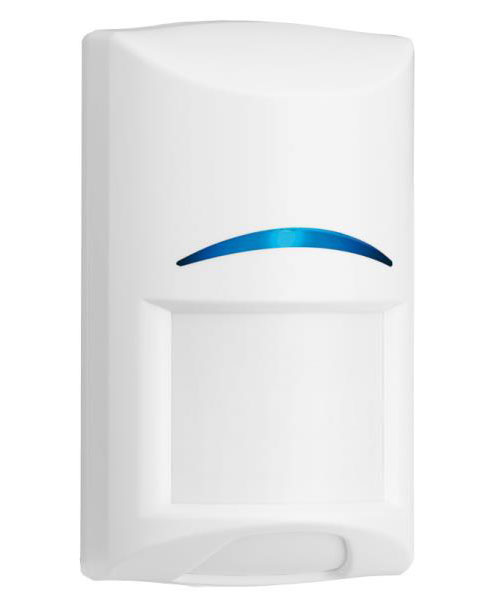 Sensor de Presença Infravermelho Microondas Tritech Blue Line Sem Fio Passivo - PET 45 Kg