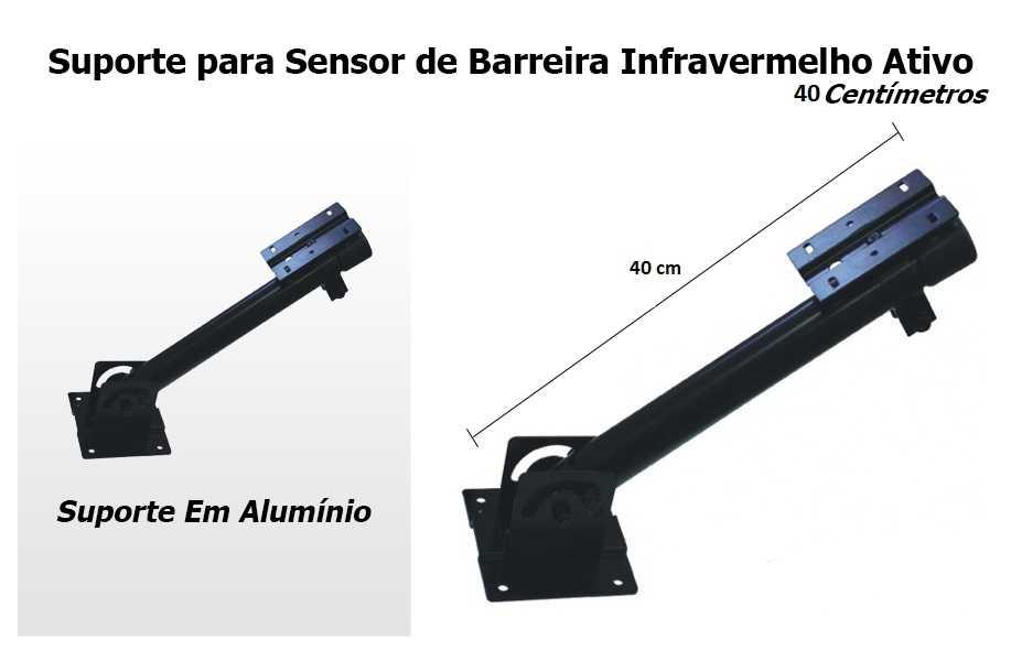Suporte para Sensor Ativo IVA / Câmera - 40 centímetros    - Tudo Forte