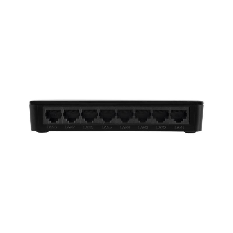 Switch de 8 Portas Intelbras SF 800 Q+ POE passivo Fast Ethernet 10/100 Mbps