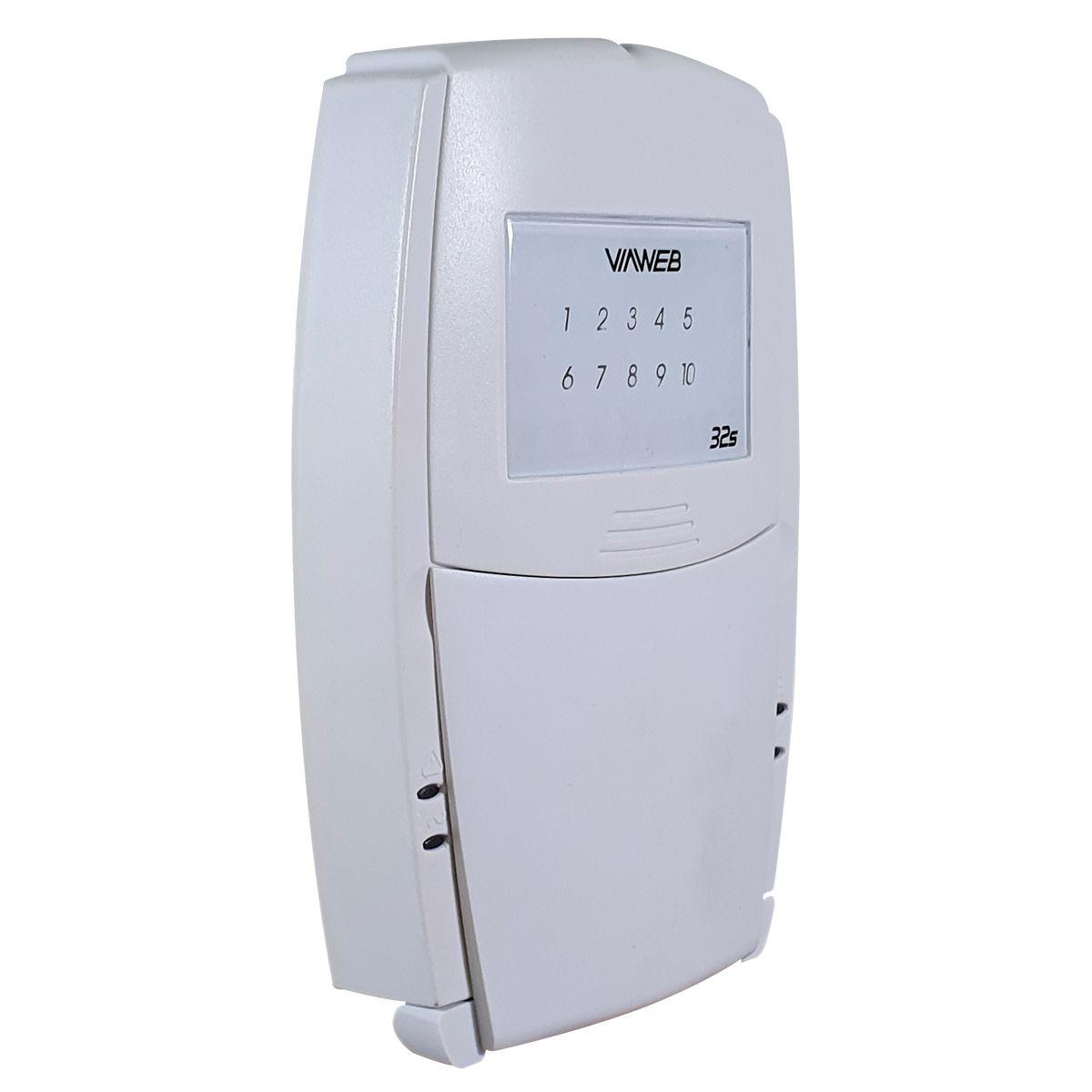 Teclado 32S para Centrais de Alarme Viaweb  - Tudo Forte