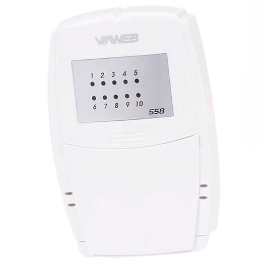 Teclado ViaWeb 558 para Central de Alarme, Viaweb, INNOVAnet  - Tudo Forte