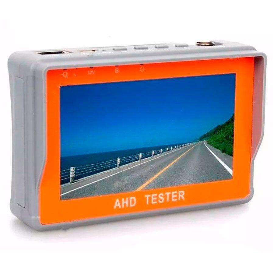 "Tela Monitor 4.3"" LCD Colorido, 1 entradas de vídeo (1 AV-in), para Câmera de Segurança"