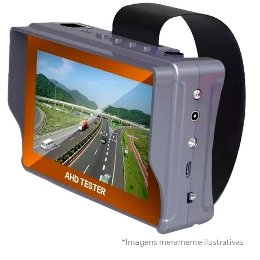"""Tela Monitor 4.3"""" LCD Colorido, 1 entradas de vídeo (1 AV-in), para Câmera de Segurança  - Tudo Forte"""
