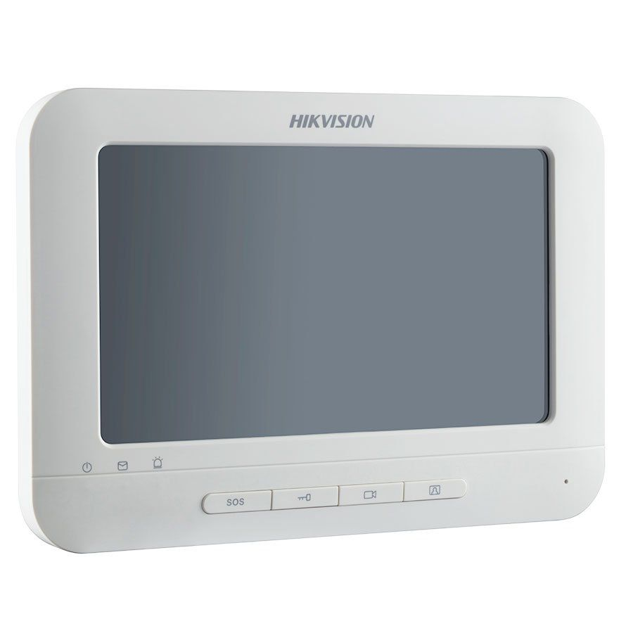 Tela Wifi DS-KH6310-WL Hikvision Monitor Modulo Interno Video Porteiro 7""