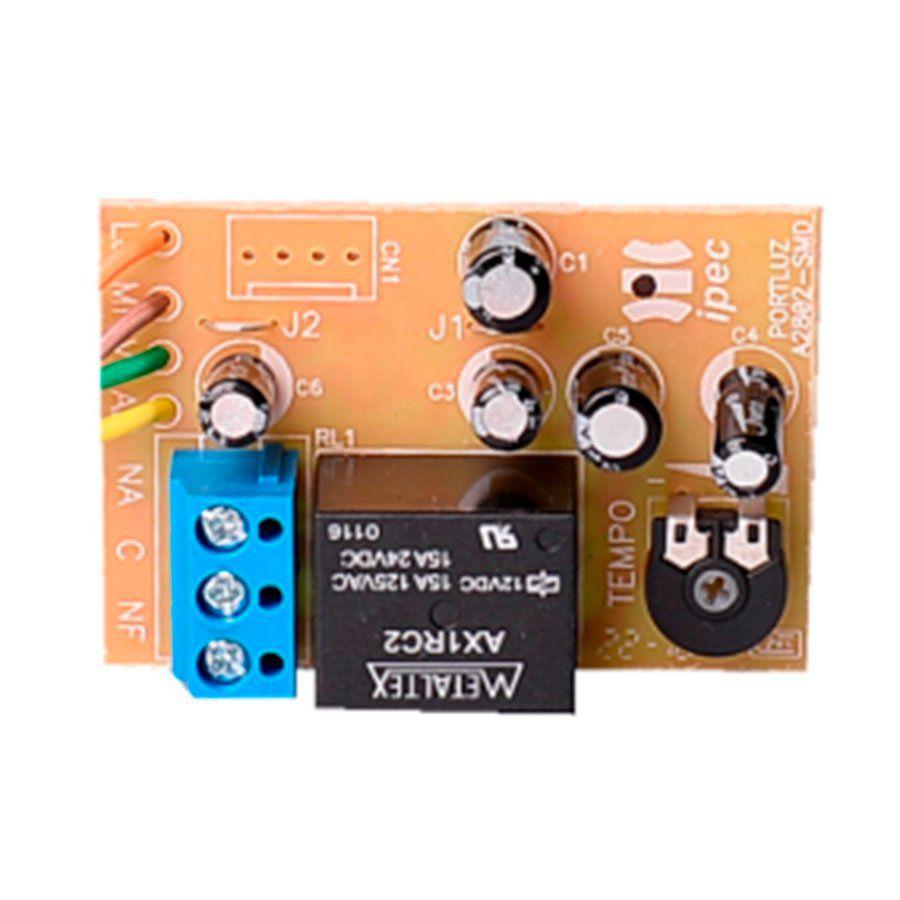 Temporização de luz de garagem, fechaduras, travas e outros dispositivos eletrônicos Port-luz-Módulo Universal IPEC