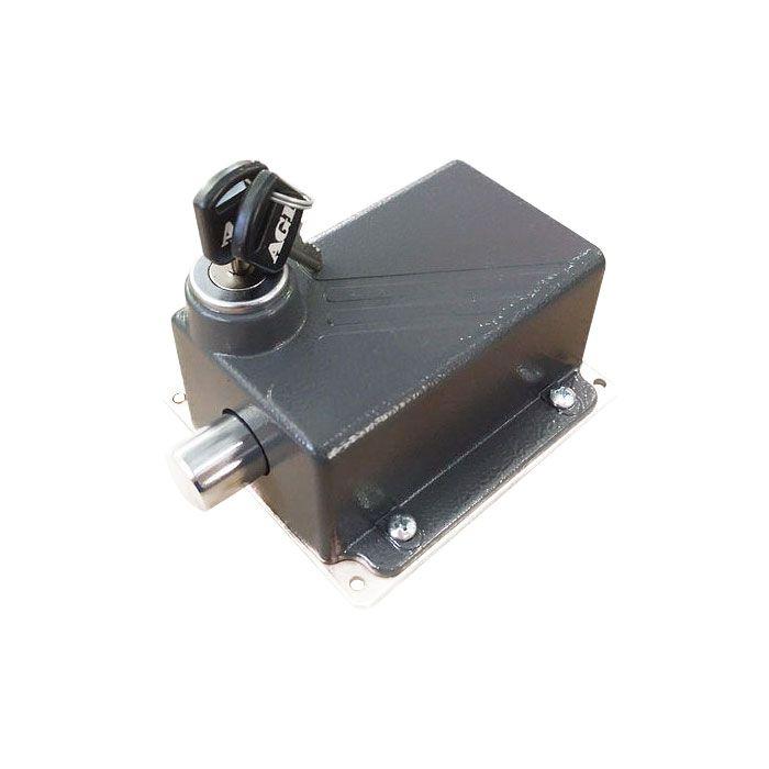 Trava Eletromagnética para portões AGL 110V  - Tudo Forte