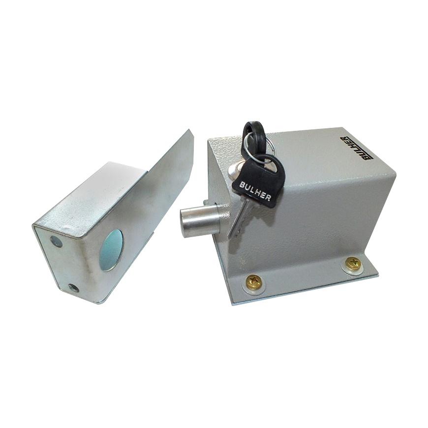 Trava Elétrica 127V Bulher Para Portão Basculantes E Deslizantes  - Tudo Forte