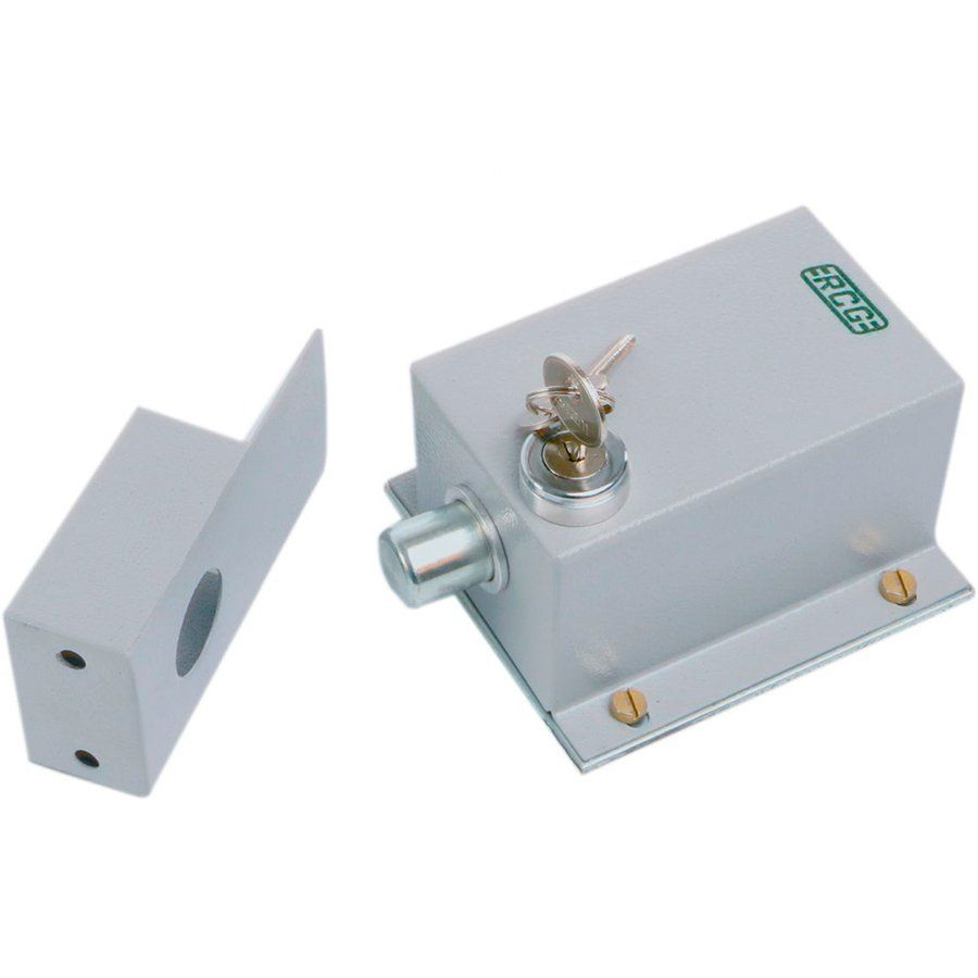 Trava Elétrica para portão eletrônico Gate Lock RCG 220V  - Tudo Forte