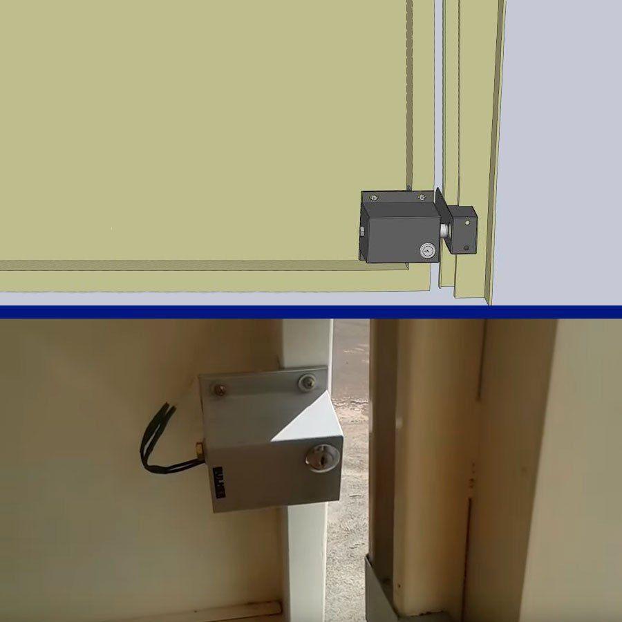 Trava Elétrica para portão eletrônico Gate Lock RCG 220V
