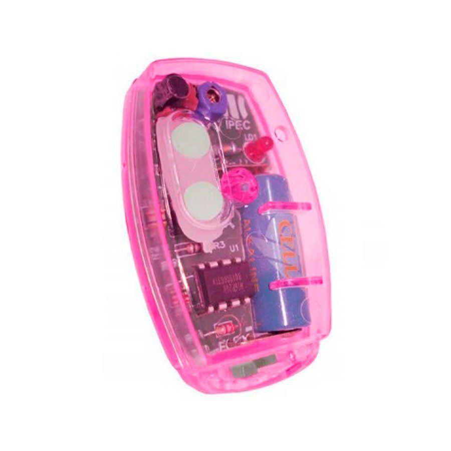 controle-tx-clip-ipec-flex-rosa-433mhz