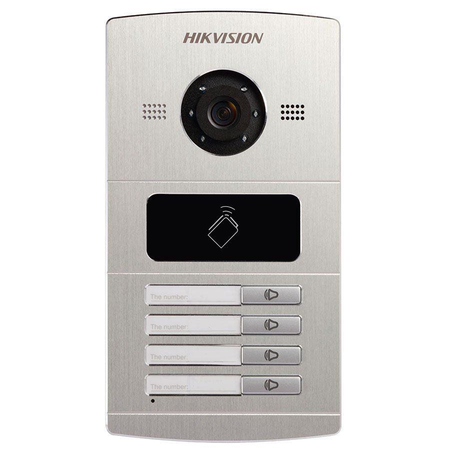Video Porteiro IP DS-KV8402-IM Hikvision Módulo Externo  - Tudo Forte