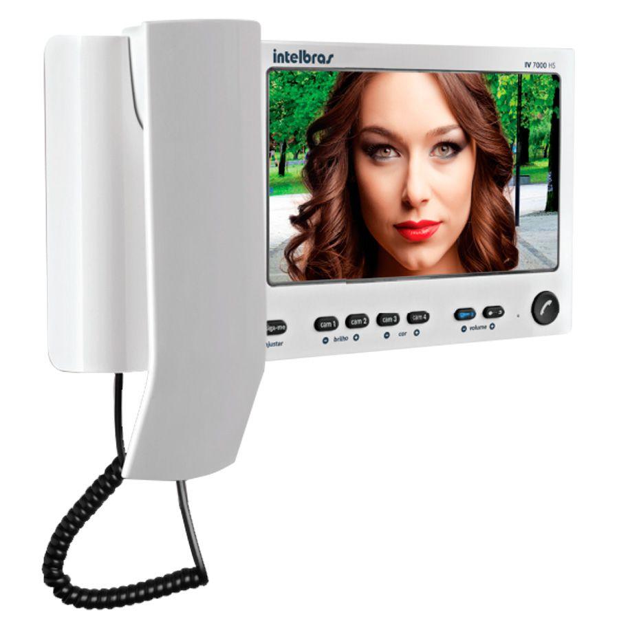 Tela Interna, Vídeo Porteiro Intelbras LCD IV 7000 IN