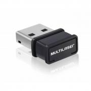 Adaptador Nano USB 150Mbps Wps Re035 Multilaser 18705