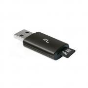 Adaptador USB + Cartão de Memoria 16Gb Multilaser Smartogo Classe10 MC121 28788