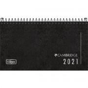 Agenda 2021 Tilibra Executiva Cambridge de Bolso Preta 315125 29594