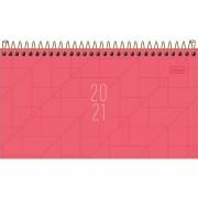 Agenda Tilibra 2021 Executiva Diaria Spot de Bolso Feminina  Rosa 179370 29460
