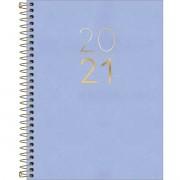 Agenda Tilibra 2021 Executiva Diaria Vanilla Espiral Sortida 312215 29496