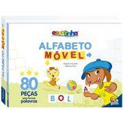 Alfabeto Movel Livro Escolinha Brochura Todo Livro 1151967 28099