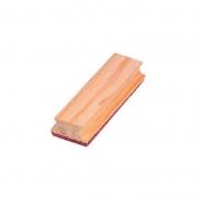 Apagador para Quadro Negro Simples Pinus Natural Stalo 8188 13396