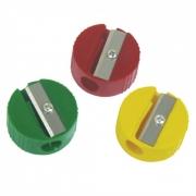 Apontador 1 Furo Redondo Simples Caixa Com 12 Cores Sortidas 637 CiS 13300