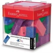 Apontador Com Deposito Faber-Castell 25 Un. Glitz Sortido 125Glizf 06569