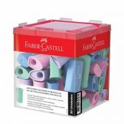Apontador Com Deposito Faber-Castell Triangular Tons Pastel 30 Un. SM/125TZF 28035